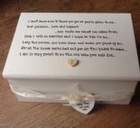 Shabby Personalised Chic Jewellery Box Mother Of The Groom Wedding Thank You ..